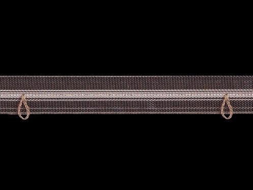 3210MR - Halkalı ve Boru Pile Büzgü Şeridi / Renkli