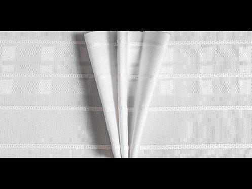 3950P - Kelebek Pile Büzgü Şeridi / Beyaz