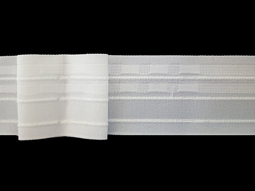 4240 Box Pleats Curtain Tapes / White