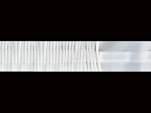 2777 Continuous Pleats Curtain Tapes / White