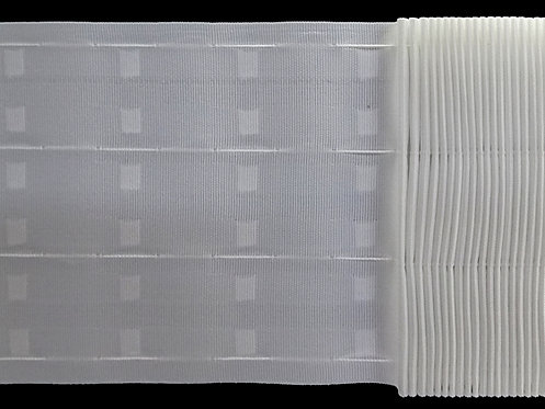 4271 Continuous Pleats Curtain Tapes / White