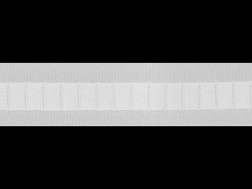 3333 Dikey Büzgü Şeridi / Beyaz
