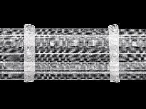 3941MP-3 - Tekli Pile Büzgü Şeridi / Şeffaf