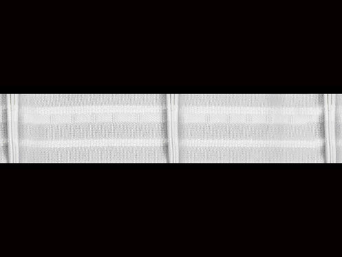 3590 - 3 Pleats Curtain Tapes / White