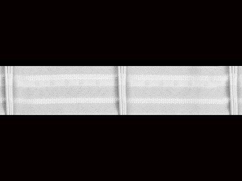 3590 3 Pile Büzgü Şeridi / Beyaz