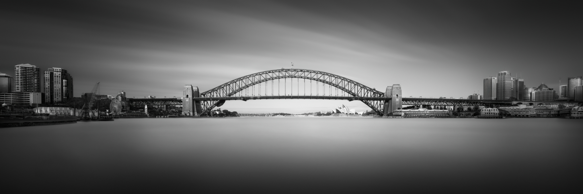 Silence of Sydney Harbour Bridge Pro