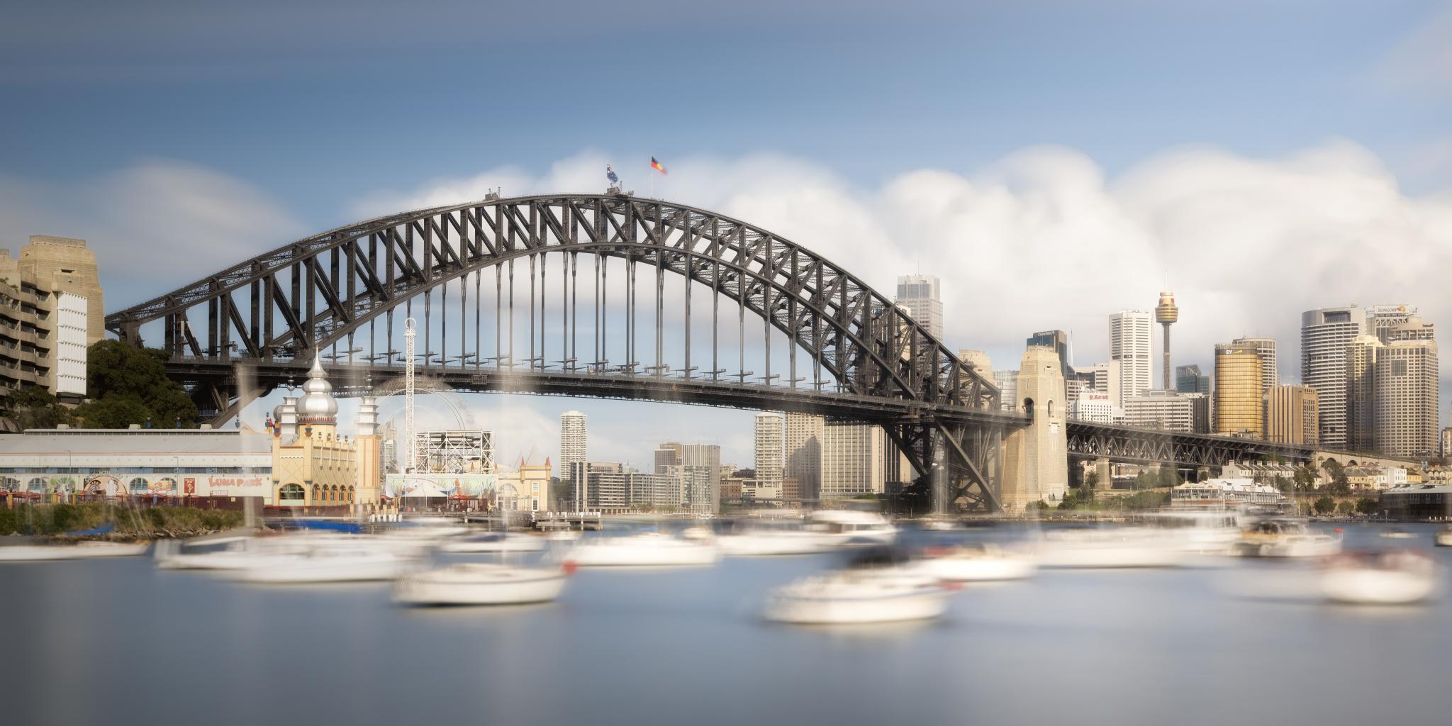 Waltz with Sydney Harbour Bridge