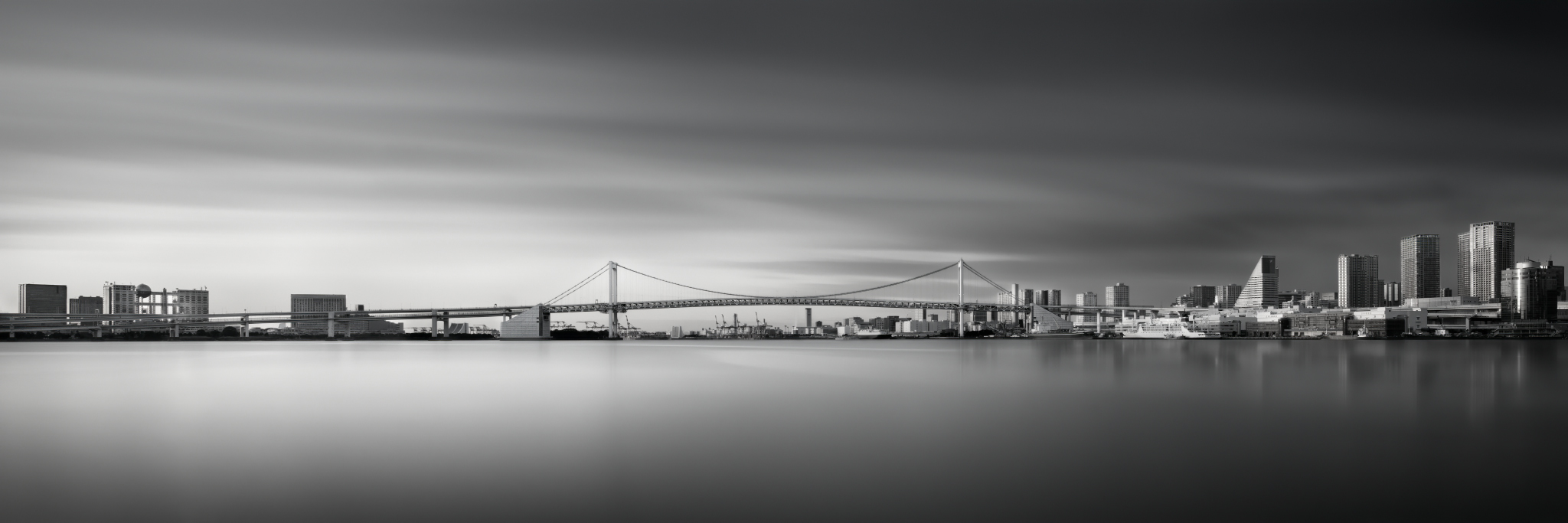 "Silence of Rainbow Bridge Profile""BW"