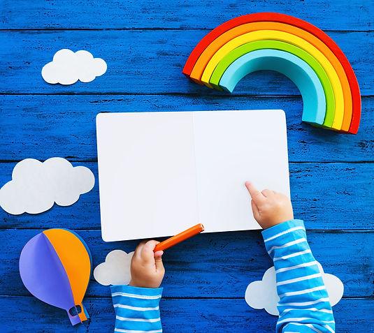 Creative children's waldorf or montessor