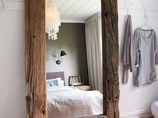 Как расположить зеркала в спальне