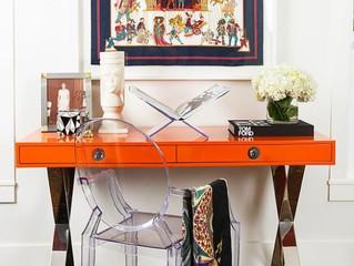 Оранжевый цвет Hermés и его применение в оформлении интерьера