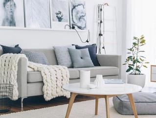 Картины над диваном: 10 способов их размещения