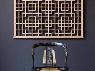 Орнамент решетка в интерьере