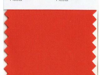 Цвет «фиеста» в интерьере