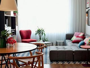 10 дизайнерских приемов для тех, у кого очень маленькая гостиная