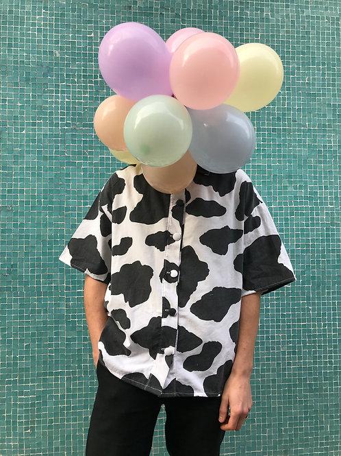 Chemise unisex vache