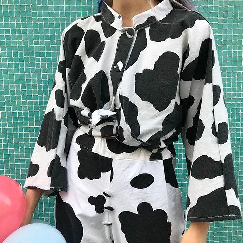 Blouse vache