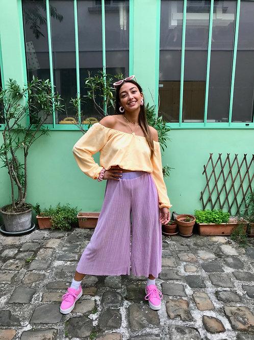 Pantalon Hirafu rose