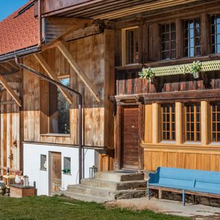 rénovation de ferme à Corbières