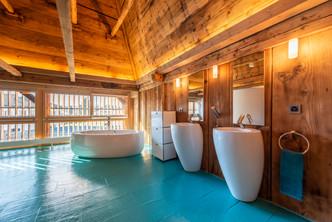 salle de bain dans combles