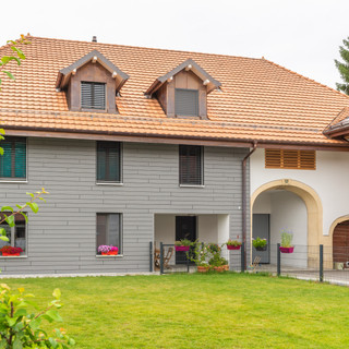 rénovation d'une résidence villageoise à L'Isle