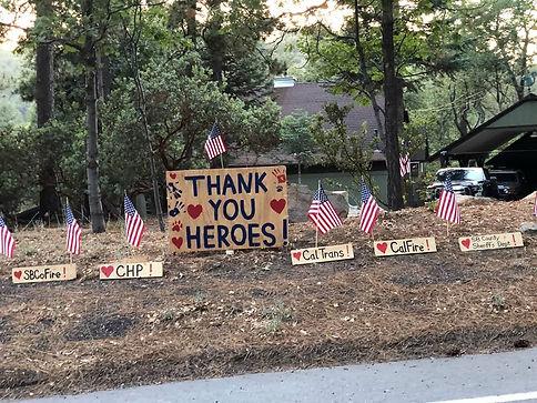 Angelus Oaks Thanks Valley Fire 07-2018.
