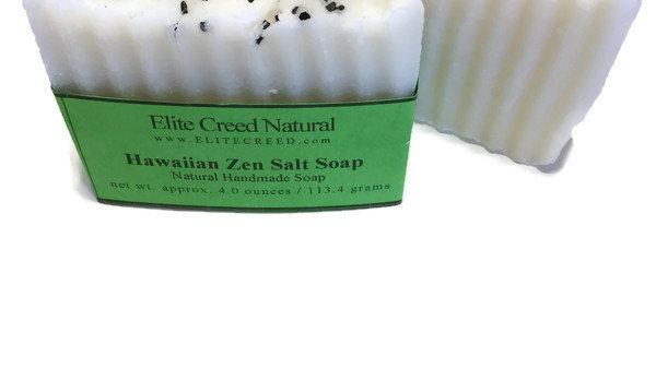 Hawaiian Zen Salt Handmade Soap