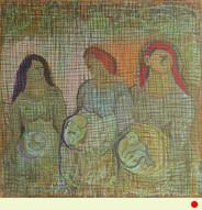 שלוש נשים בדרך לאימהות