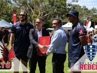 LTUCD and Melbourne Rebels Rugby Union Club partnership!