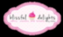 Bakery logo for Houston, TX based bakery Blissful Delights by Ashley