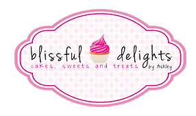 Blissful Delights by Ashley Logo for Houston, TX based bakery