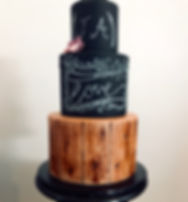 Chalkboard wedding cake.jpeg