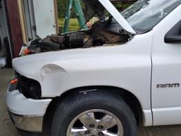 3 Tools To Remove 02-05 Dodge Ram Fender