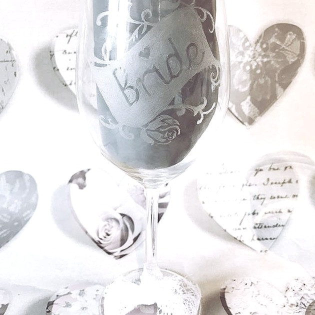 New etched glass range- head over to _pe