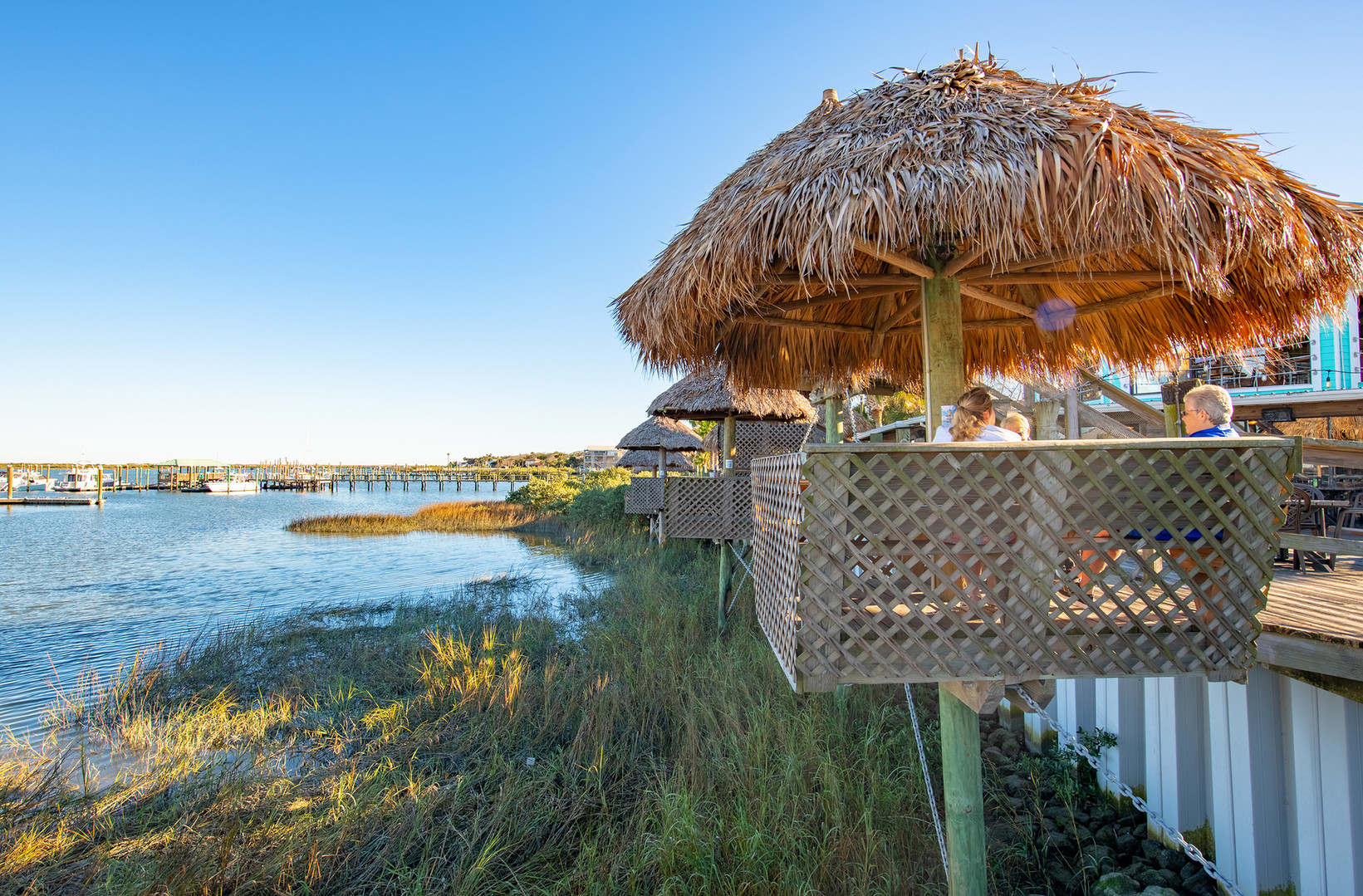 Conch House Marina Restaurant hut