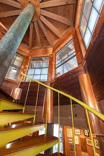 Conch House Marina Restaurant Staircase