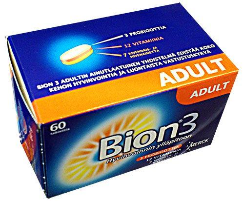 Витамины Bion3 для взрослых