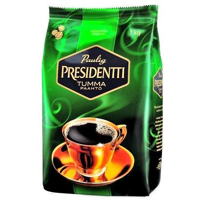 Кофе зерновой Paulig Presidentti