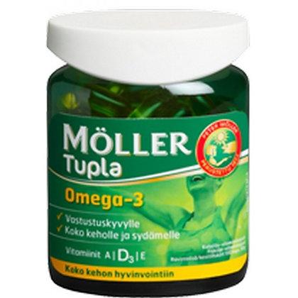 Витамины Moller Tupla Omega 3