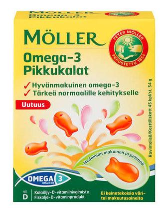 Витамины Moller Pikkukalat Omega 3
