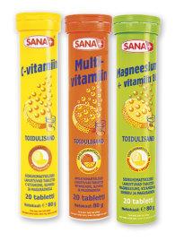 Витамины шипучие Sana+