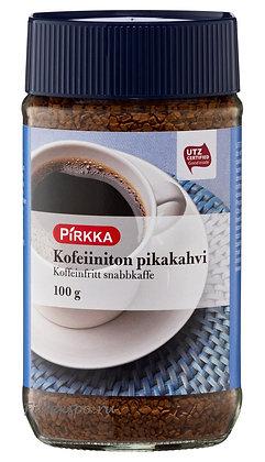 Кофе растворимый без кофеина Pirkka