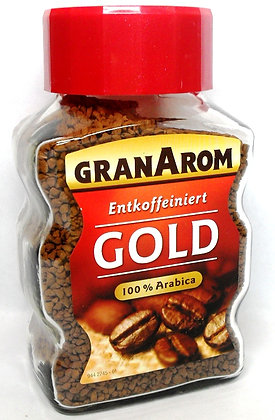 Кофе растворимый (без кофеина) GranArom