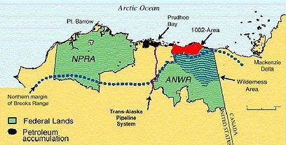 Alaska resource development map