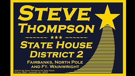 Steve Thompson Alaska House District 2