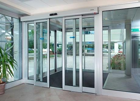 Automatic sliding doors supply & installation in uae