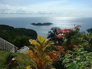 Gîtes la Marlyse en Guadeloupe. Vue extraordinaire sur la Mer des Caraïbes. www.giteslamarlyse.com
