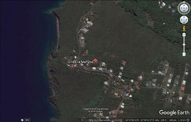 Les Gîtes la Marlyse bénéficient d'une situation idéale entre la Mer des Caraïbes et le Parc National de la Guadeloupe