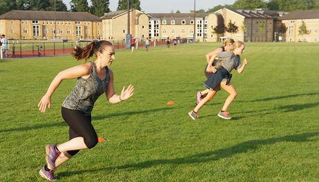 Outdoor fitness group Teddington