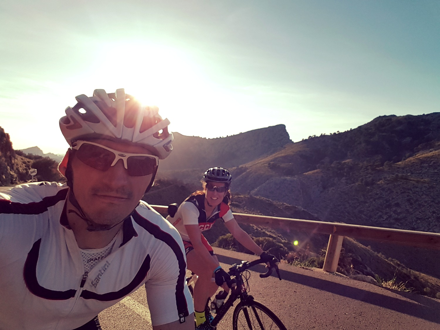 Cycling training Majorca